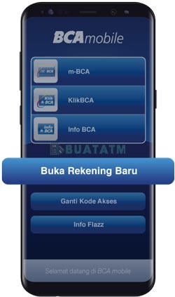 1 Buka aplikasi BCAmobile