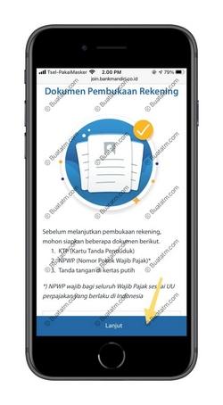 2 Info Persyaratan Pendaftaran
