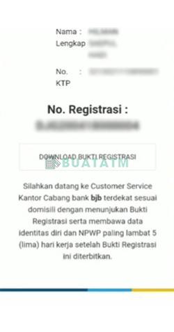 6 Nomor Registrasi