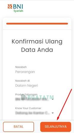 8 Konfirmasi Data