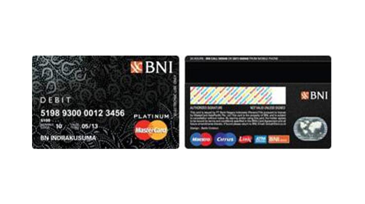 Limit Tarik Tunai ATM BNI Platinum 1