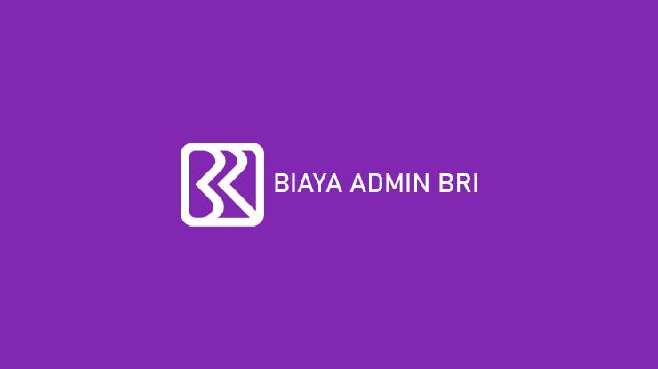 Biaya Admin BRI