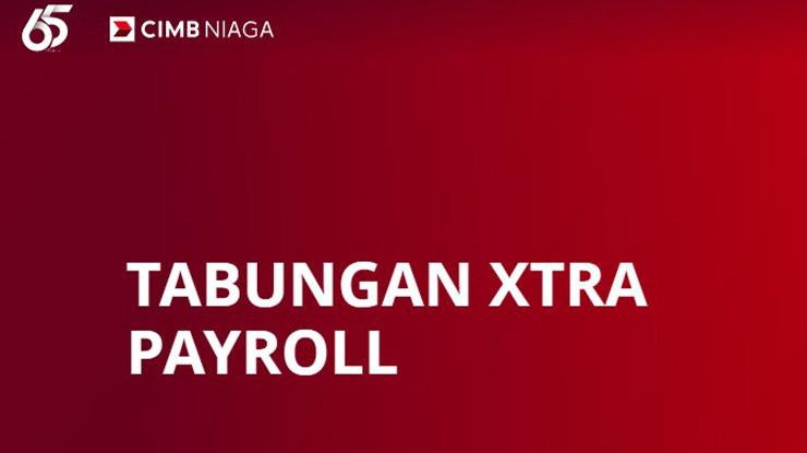 Biaya Admin Tabungan Xtra Payroll