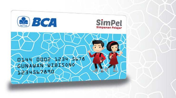 Kartu ATM Simpanan Pelajar BCA