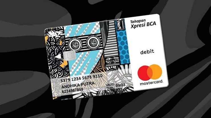 Kartu ATM Tahapan Xpresi BCA