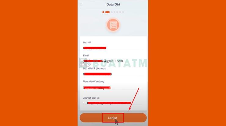 Nomor HP dan Email