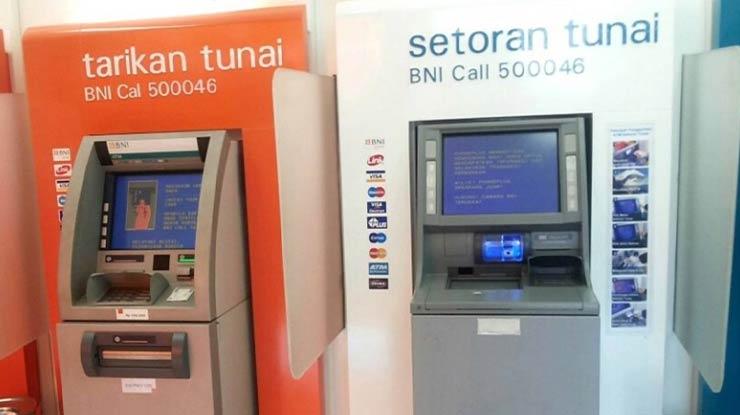 Penarikan Melalui ATM BNI
