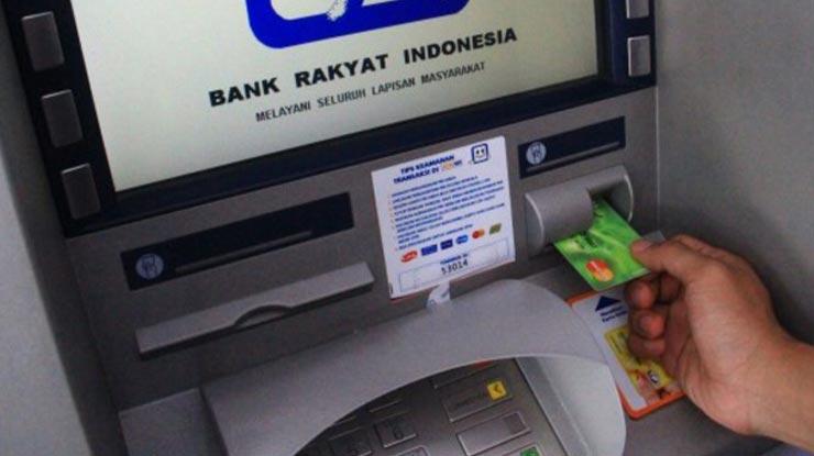 Penarikan Melalui ATM BRI