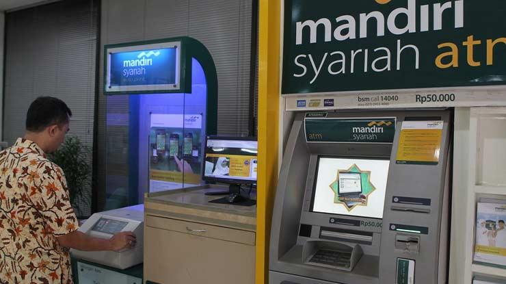 Penarikan Melalui ATM Mandiri Syariah