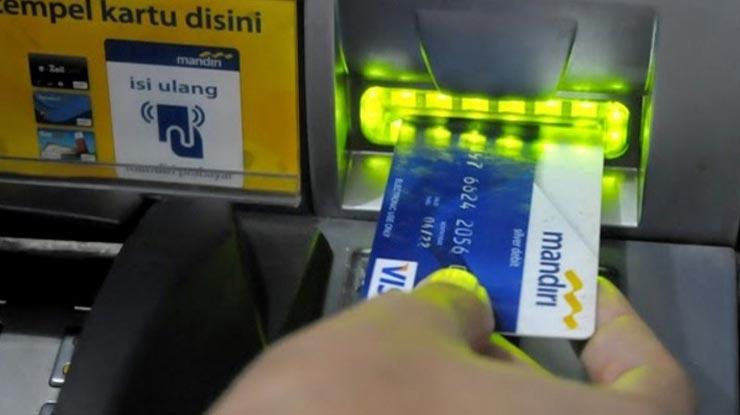 Penarikan Melalui ATM Mandiri