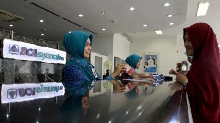 Penarikan Melalui Teller BCA Syariah