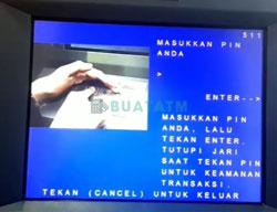 2 Masukkan PIN ATM 1