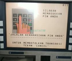 Cara Transfer ATM