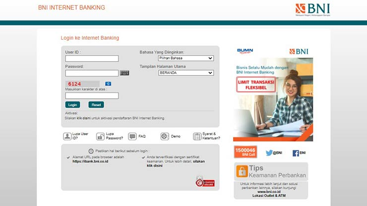 Cara Transfer Internet Banking BNI Terbaru