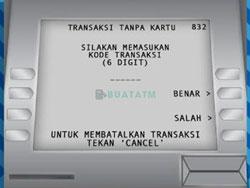Masukkan Kode Transaksi