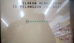 Masukkan Nomor ID Pelanggan PLN