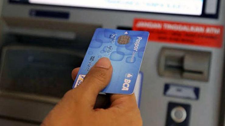 Pendaftaran via ATM BCA