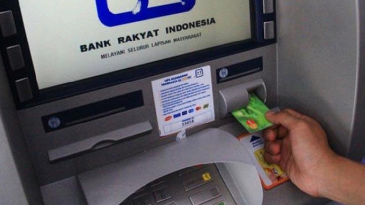 Pendaftaran via ATM BRI