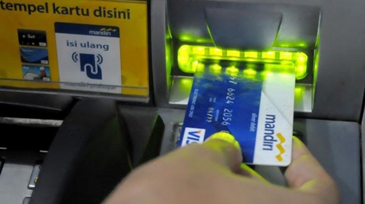 Pendaftaran via ATM