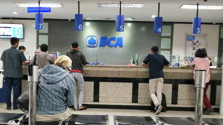 Pendaftaran via Kantor BCA