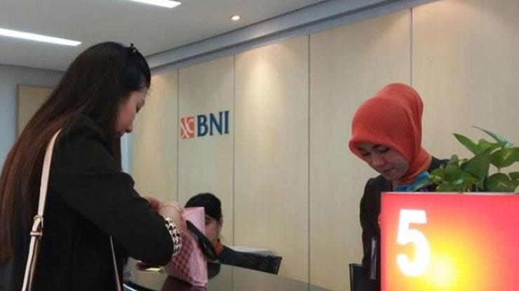 Pendaftaran via Kantor Bank BNI