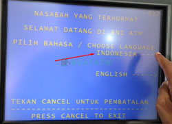 Pilih Bahasa Indonesia