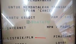 Pilih Listirk atau PLN