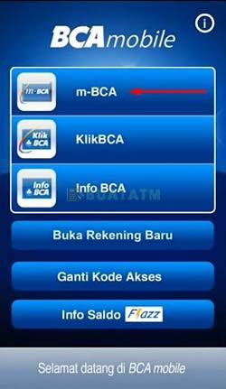 Pilih m BCA
