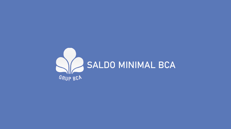 Saldo Minimal BCA