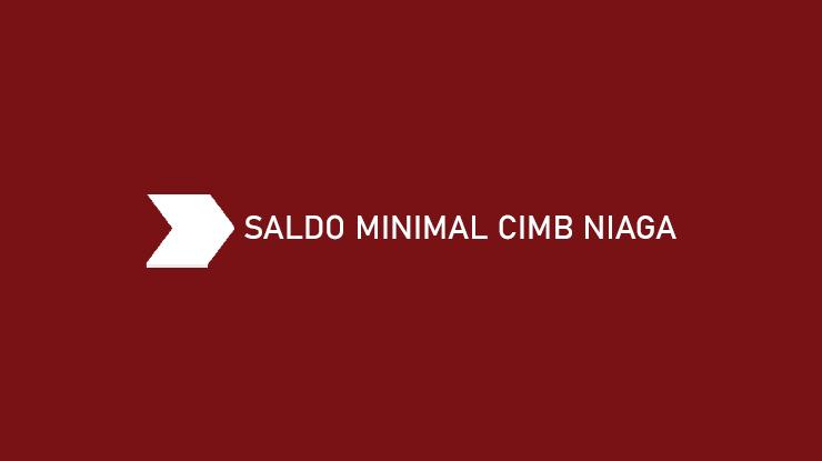 Saldo Minimal CIMB Niaga