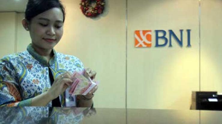 Transfer via Teller Bank BNI