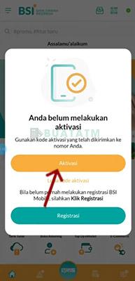 Aktivasi BSI Mobile banking