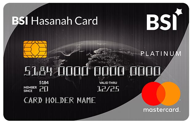 BSI Hasanah Card Platinum