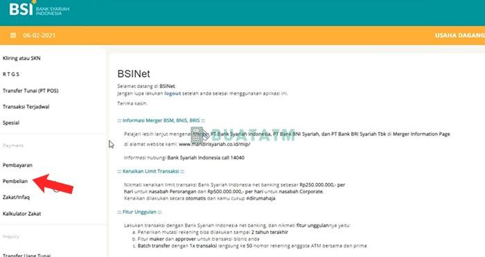 BSI Net Banking