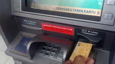 Beli Token Listrik di ATM BCA