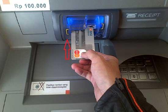 Beli Token Listrik di ATM BNI