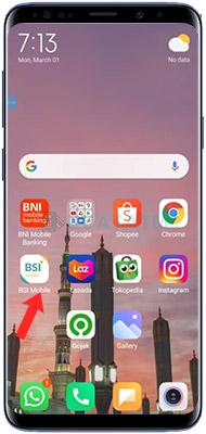 Beli Token Listrik di BSI Mobile Banking