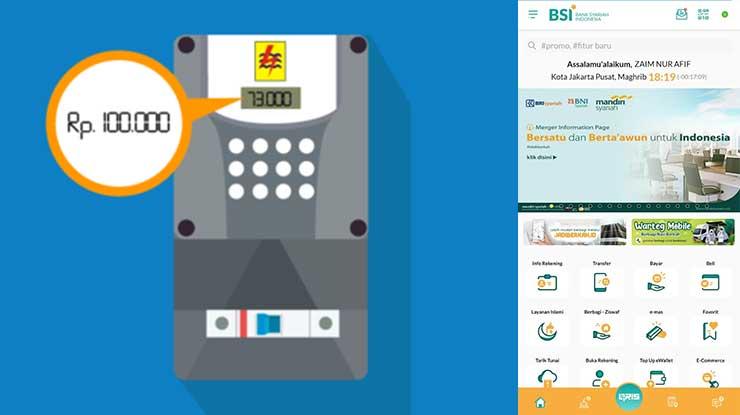 Biaya Admin Token Listrik BSI Mobile