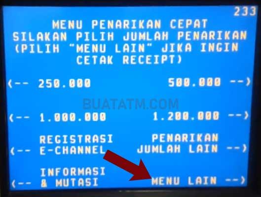 Cara Beli Token Listrik ATM BNI