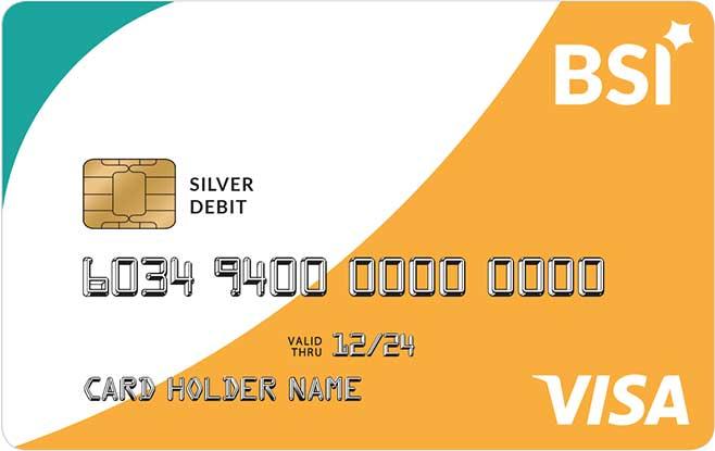Kartu ATM Bank Syariah Indonesia Visa Silver