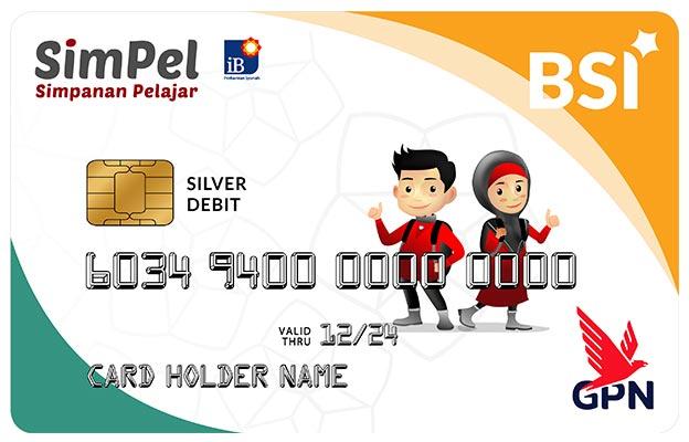 Kartu Debit BSI SimPel ATM Bank Syariah Indonesia