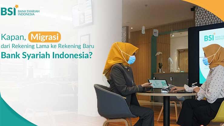 Migrasi Rekening ke Bank Syariah Indonesia