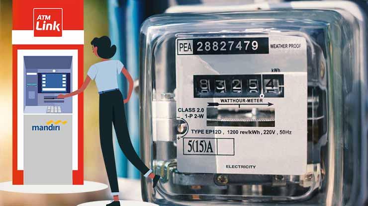 Nominal Token Listrik di ATM Mandiri