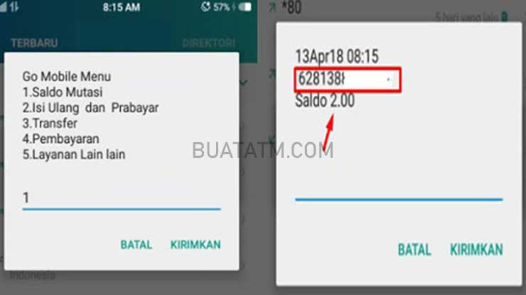 SMS Banking CIMB Niaga