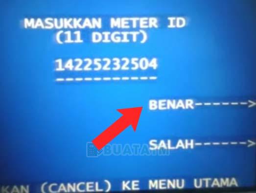 Token Listrik di ATM Mandiri