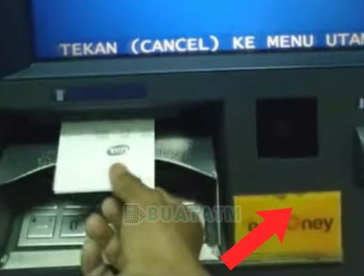 struk Token Listrik di ATM Mandiri