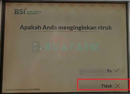 ATM Bank Syariah Indonesia 1