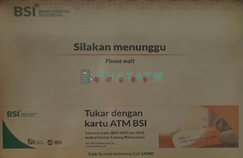 Mutasi BSI Lewat ATM