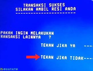 Transfer ATM BPD