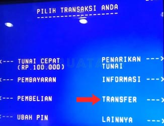Transfer ATM Bank Jateng